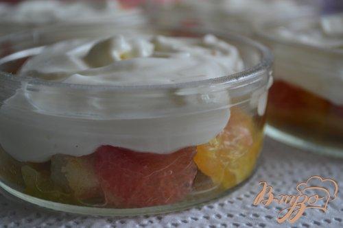 Десерт с цитрусовыми