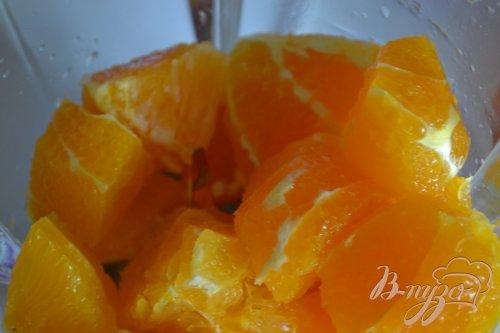 Кокосово-апельсиновый смузи