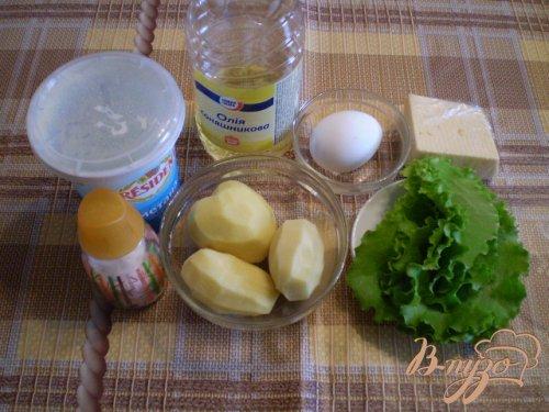 Фриттата с картофелем и сыром