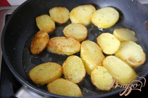 Картофель жареный по деревенски