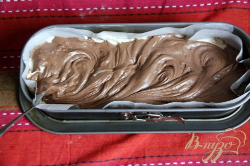 Мраморный кекс - пятиминутка