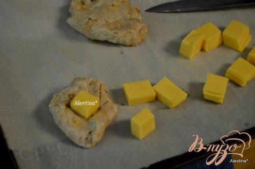 Булочки на трех сырах