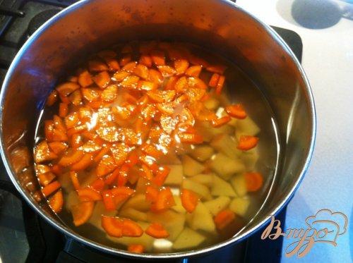 Пельменный суп.