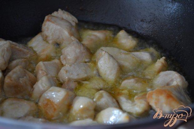 Плов из куриного мяса с тремя видами круп