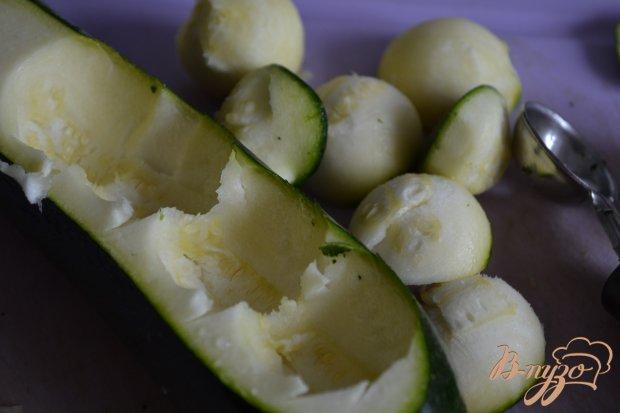 Салат из цукини с сыром