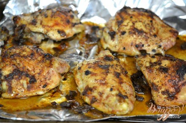 Куриные бедрышки с чили соусом и медом