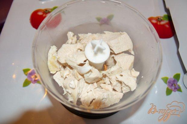 Картофельные вареники с курицей