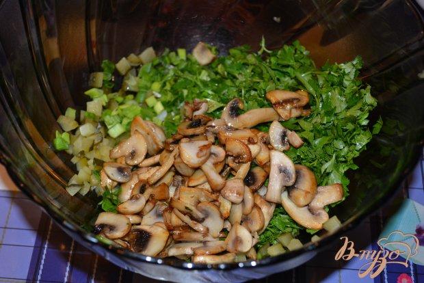 Винегрет из печеных овощей без капусты