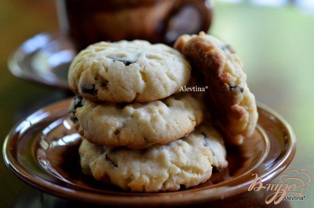 Печенье со сливой