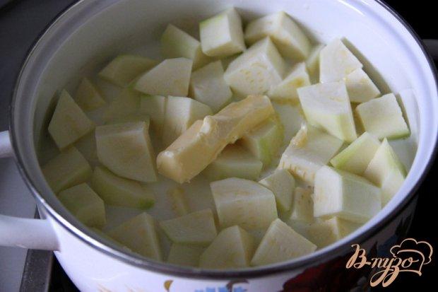Бархатный  суп-пюре из цуккини