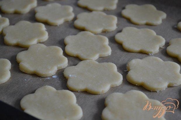 Песочное печенье с меренгой