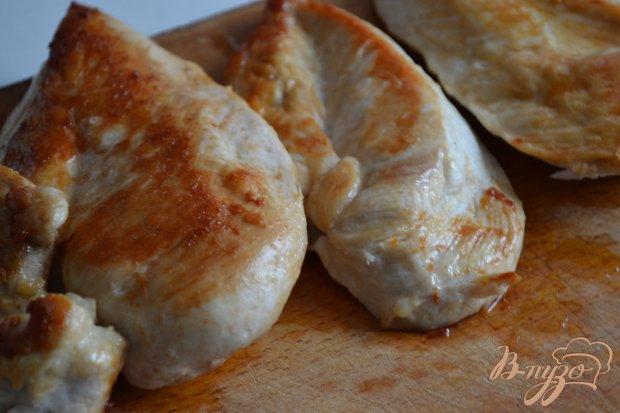 Куриные грудки с беконом и моцареллой