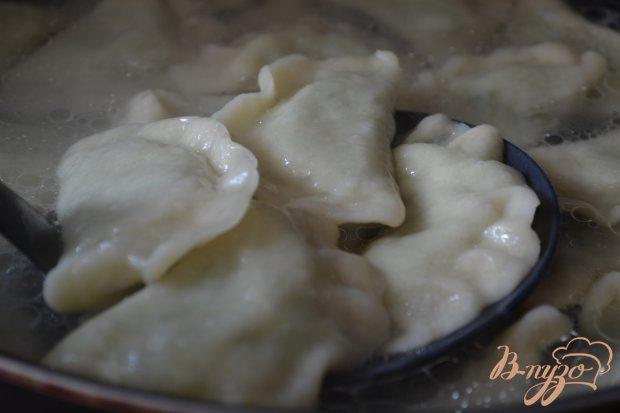 Вареники с картофельно-гороховой начинкой