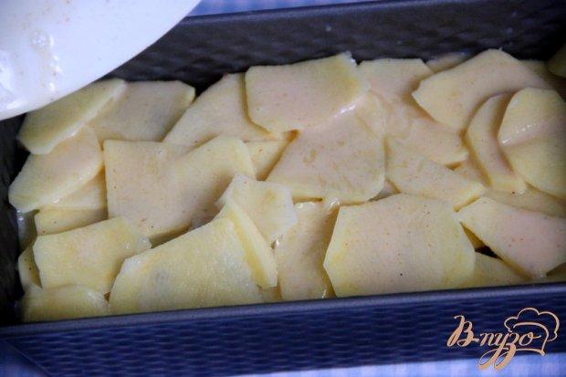 Картофельный слоёный кекс-запеканка