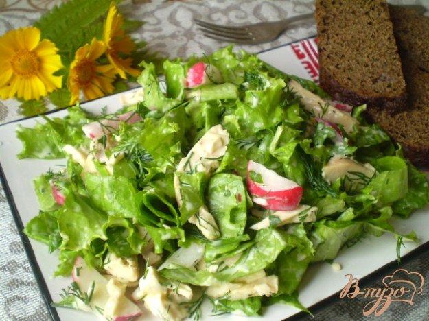 Рецепт Салат с цыпленком-гриль