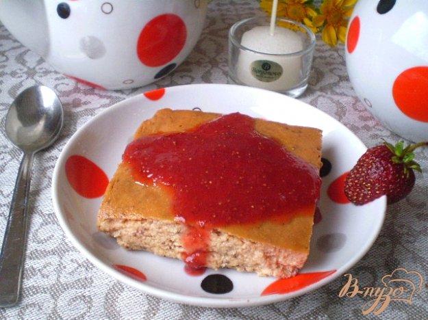 Рецепт Творожная запеканка с клубникой