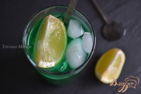фото рецепта: Мятный напиток с ромом