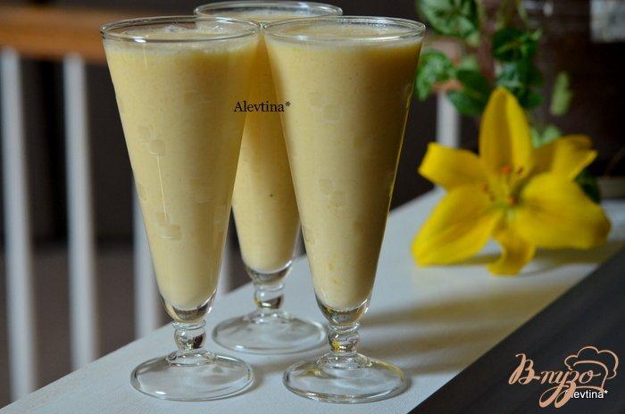 Фото приготовление рецепта: Коктейль с манго шаг №3
