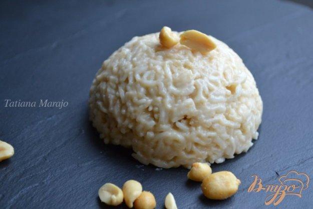Рецепт Рисовый гарнир с арахисовым вкусом