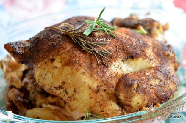 Рецепт Курица в медленноварке со специями и розмарином