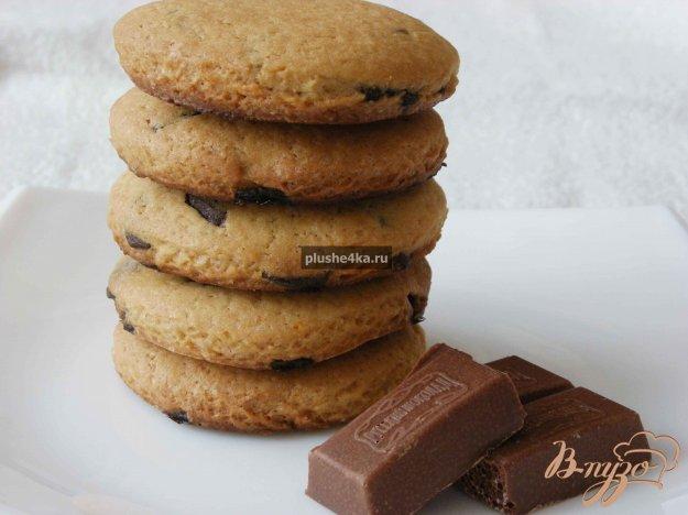 фото рецепта: Печенье с шоколадом
