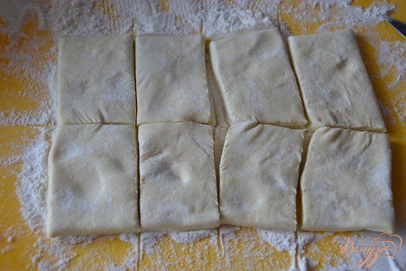Фото приготовление рецепта: Яблочные слойки шаг №1