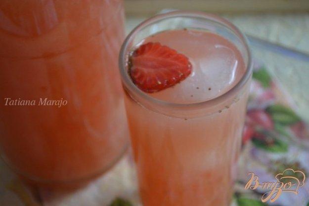 Рецепт Клубнично-апельсиновый квас