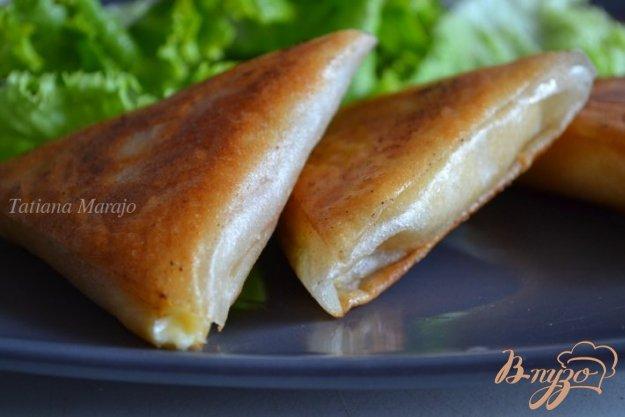 Рецепт Самса с сыром и абрикосами