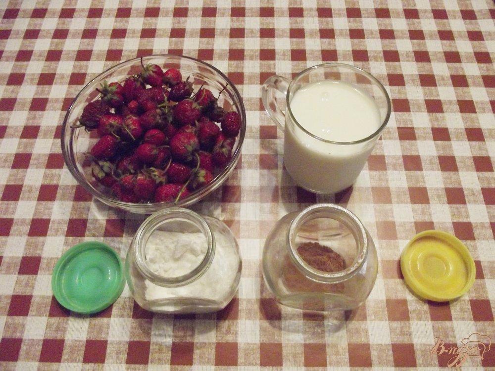 Фото приготовление рецепта: Клубничный аэрин шаг №1