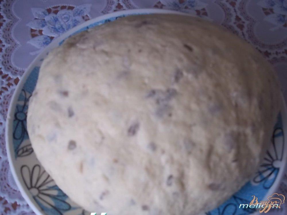 Фото приготовление рецепта: Кукурузно-пшеничное печенье с сыром и семечками шаг №3