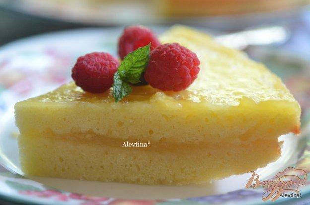 Рецепт Кекс с лимонным курдом