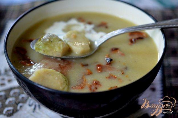 фото рецепта: Суп с брюссельской капустой