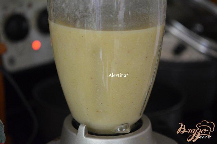 Фото приготовление рецепта: Суп с брюссельской капустой шаг №4