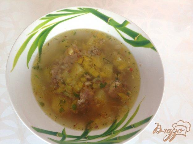 Рецепт Гречневый суп со свининой
