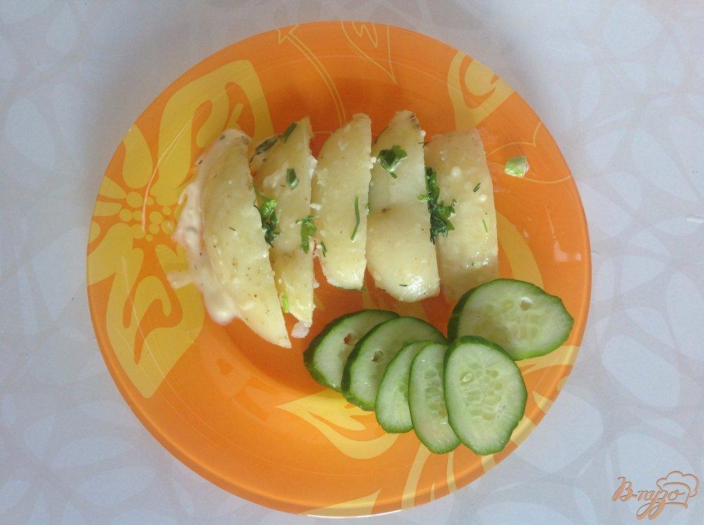 Фото приготовление рецепта: Летняя картошечка шаг №6