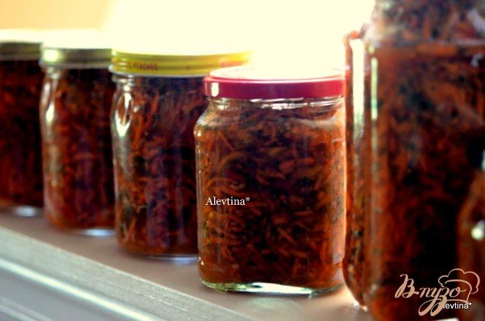 Фото приготовление рецепта: Овощные заготовки для супа шаг №3