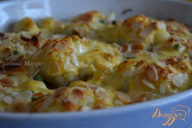 Рецепт Запеканка из цветной капусты с сардельками