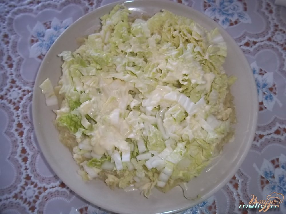 Фото приготовление рецепта: Салат сытный шаг №1