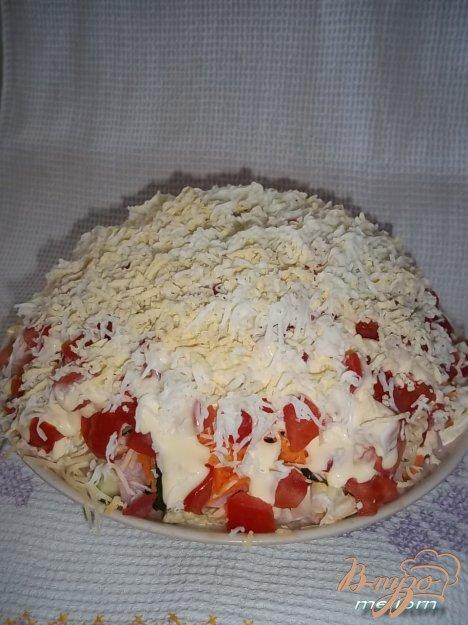фото рецепта: Салат сытный