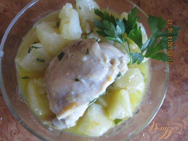 Рецепт Картошка с куриным мясом