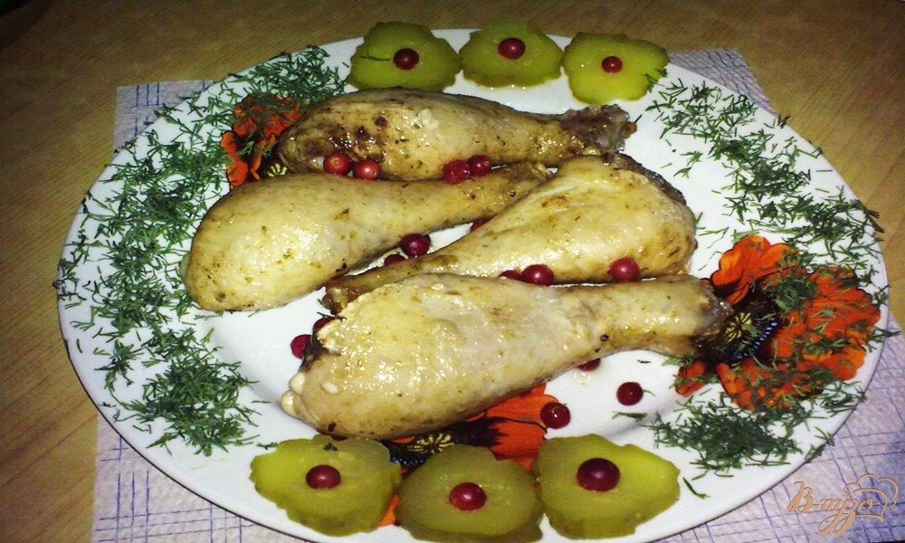 Фото приготовление рецепта: Куриные ножки по-грузински шаг №4