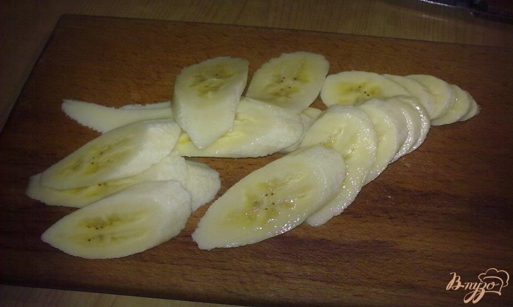 Фото приготовление рецепта: Творожно-банановое печенье шаг №1
