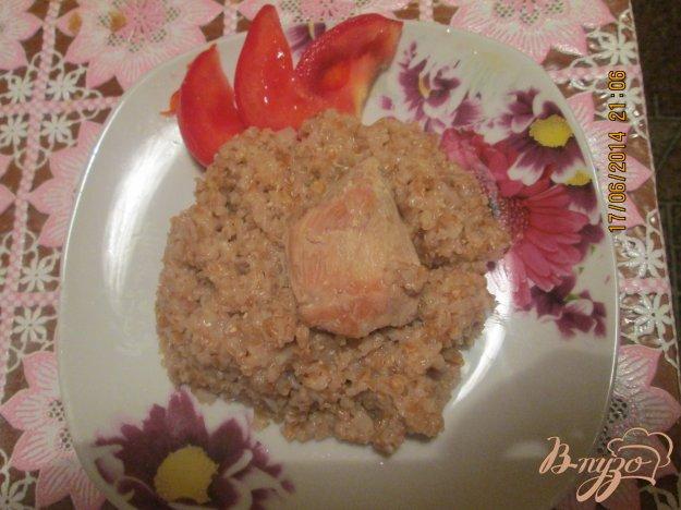 Рецепт Пшеничная каша с мясом