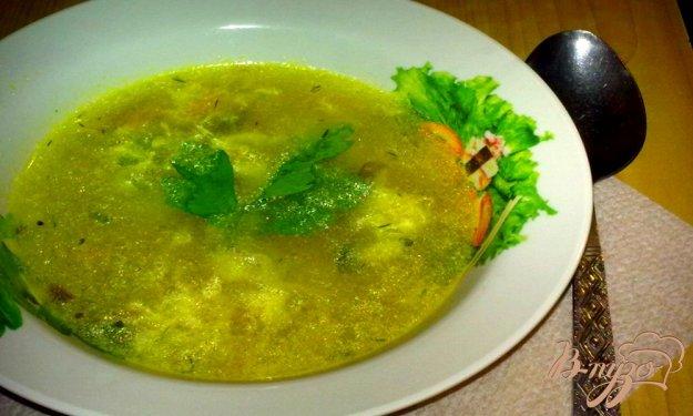 фото рецепта: Куриный суп с яйцом