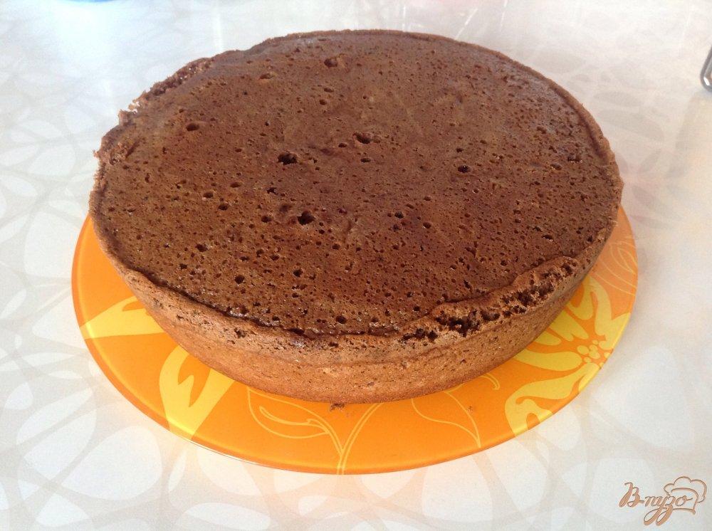 Фото приготовление рецепта: Шоколадное искушение шаг №7