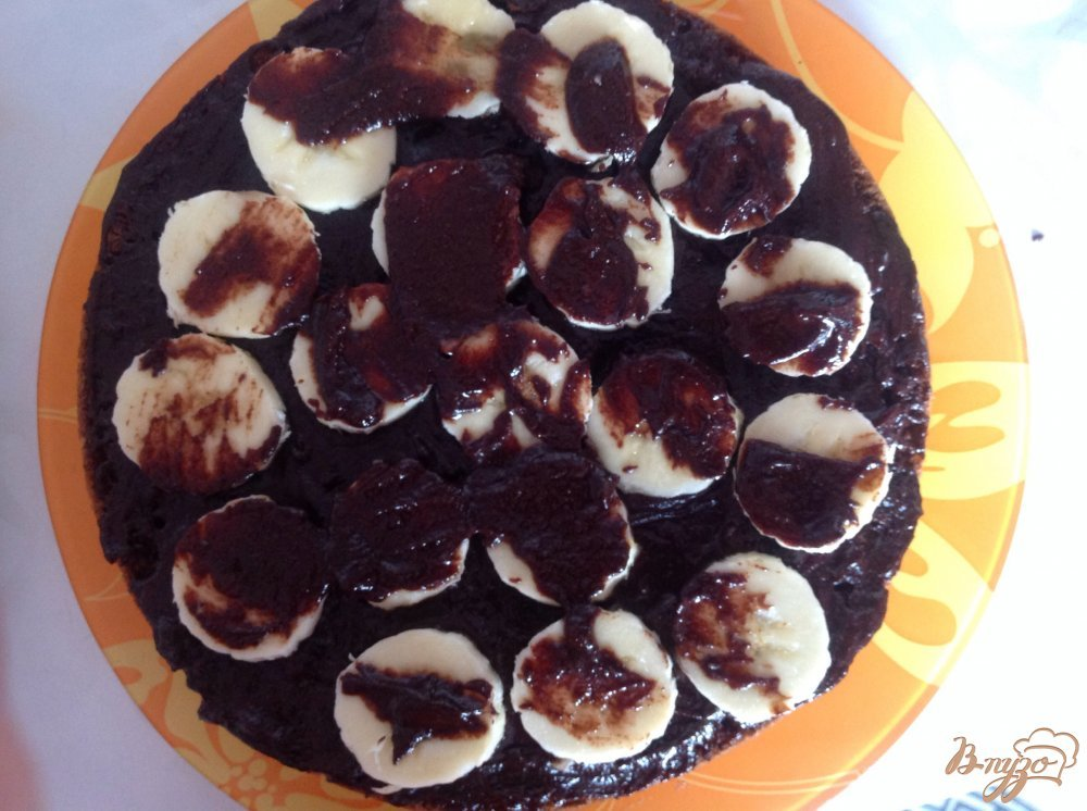 Фото приготовление рецепта: Шоколадное искушение шаг №9