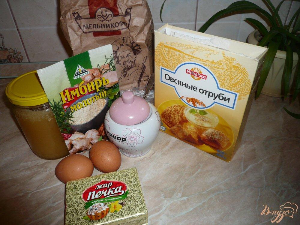 Фото приготовление рецепта: Кекс имбирно-медовый шаг №1