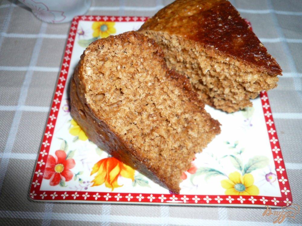 Фото приготовление рецепта: Кекс имбирно-медовый шаг №11