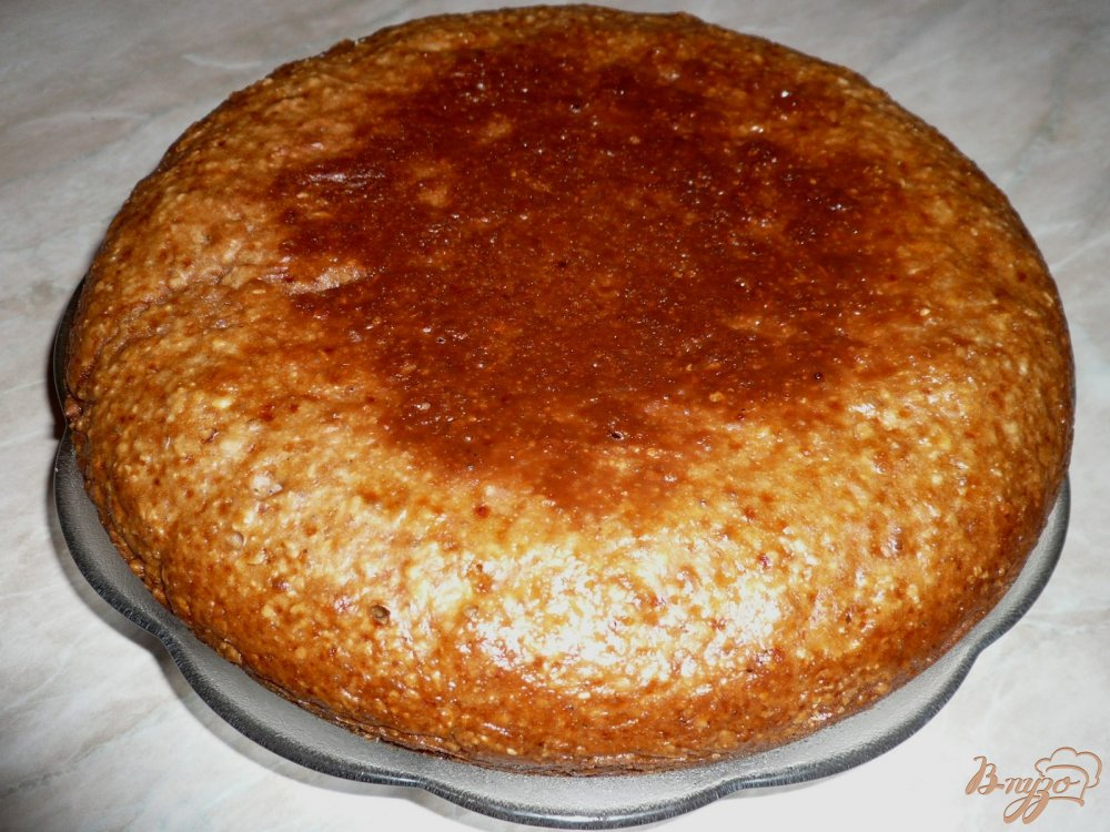 Фото приготовление рецепта: Кекс имбирно-медовый шаг №10