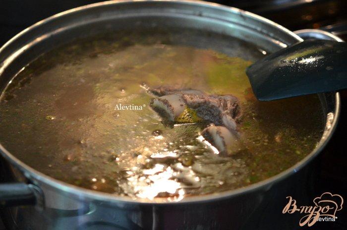 Фото приготовление рецепта: Щи из свежей капусты шаг №1